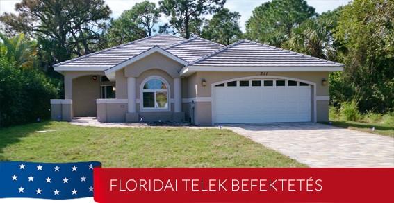 Englewood, Florida telek befektetés