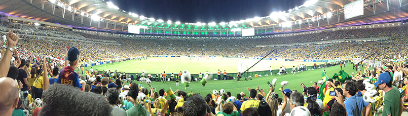 Sporting events boost tourism in Brazil