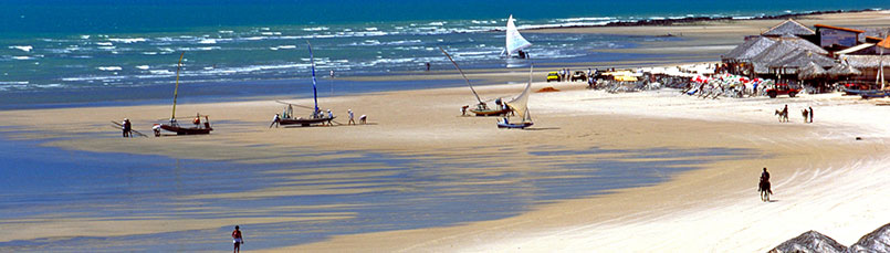 Start 2018 at North East Brazil beaches