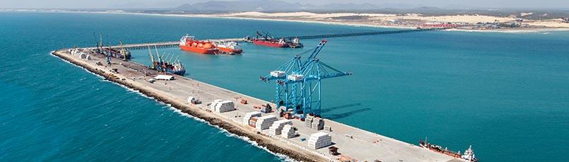 Pecem Port finishes 2017 on a high