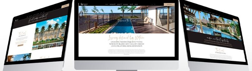 BRIC GROUP LAUNCHES NEW WEBSITE FOR THE CORAL RESORT